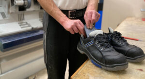 Schuh Tasch, Orthopädie-Schuhtechnik, Einlagen für Arbeitsschuhe