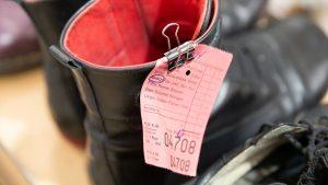 Schuh Tasch, Orthopädie-Schuhtechnik, Werkstatt, Schuhe nach der Reparatur
