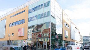 Schuh Tasch, Orthopädie-Schuhtechnik, Außenansicht Filiale Erfurt